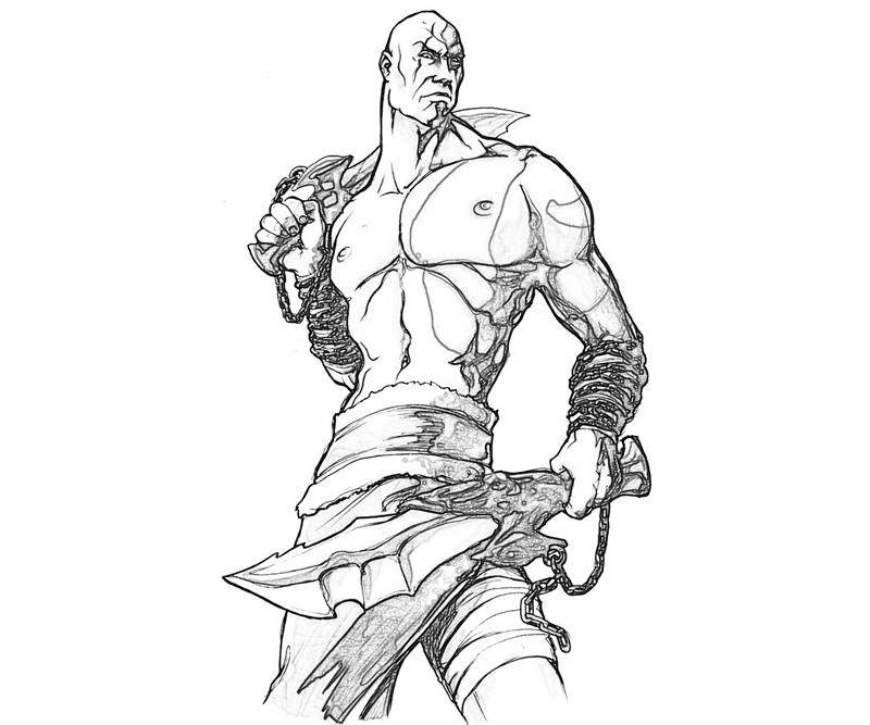 god of war coloring pages - photo#2