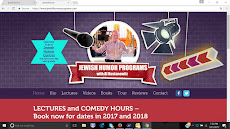 Now is the time to book our Jewish Humor Shows and Lectures for your shul, JCC, or club on ZOOM.