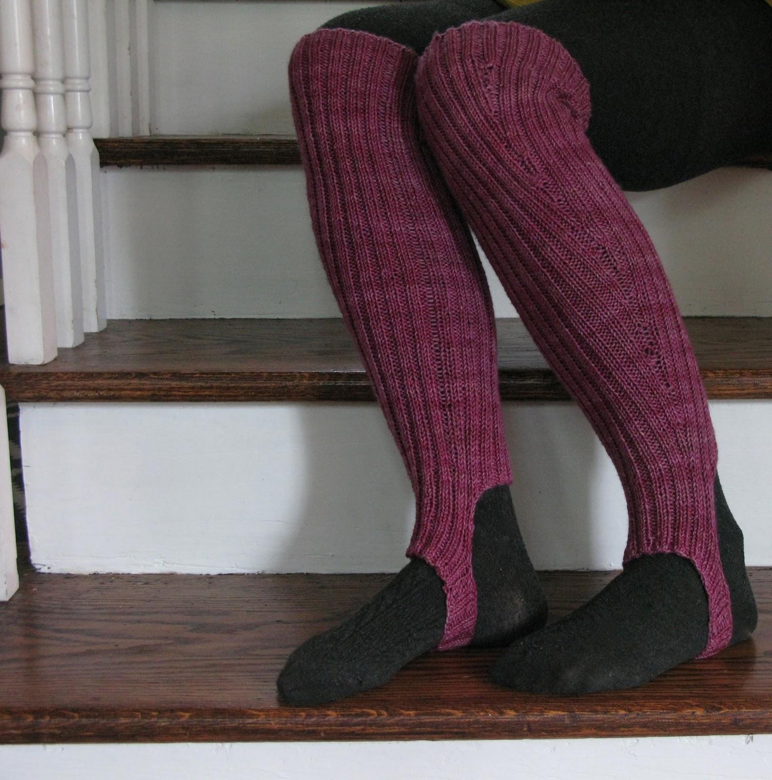 Sew Nancy: stirrup socks