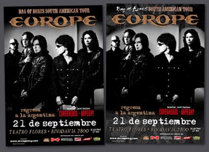 Europe / En Argentina 2012
