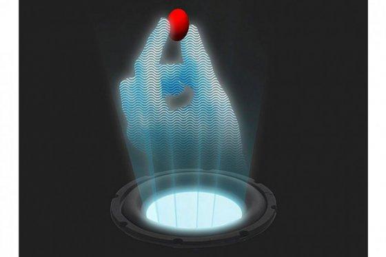 Holograma sónico