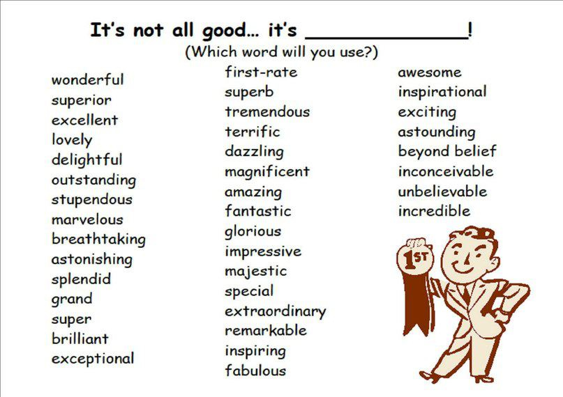 Adjectives For Essays