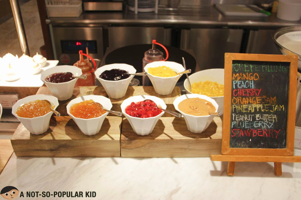 Crepe Ingredients and Toppings