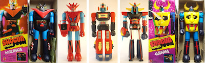 Mattel Shogun Warriors Great Mazinga - Dragun - Diamos - Raydeen  - Giaking