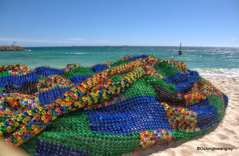 Sculpture by the sea, Cottesloe 2014, overconsumption