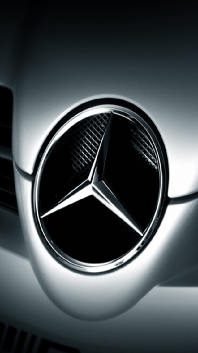 Mercedes Benz Logo Iphone 5 Wallpaper Iphone Wallpapers