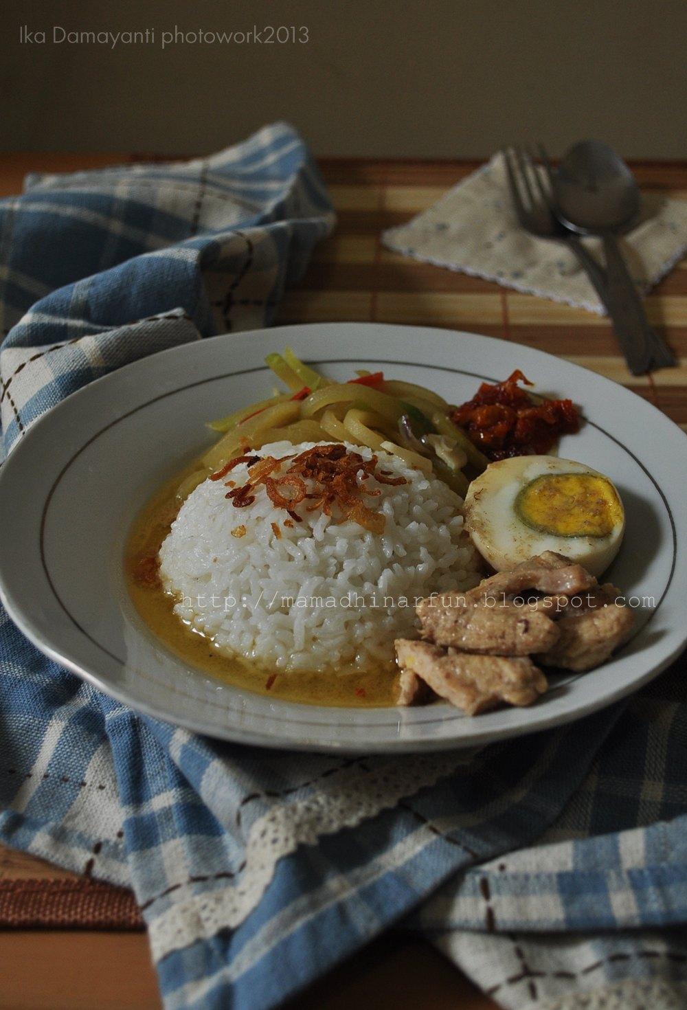 mamaDhiNar kitchen: Opor Ayam Suwir dan Sambal Goreng Labu Siamkikil ru