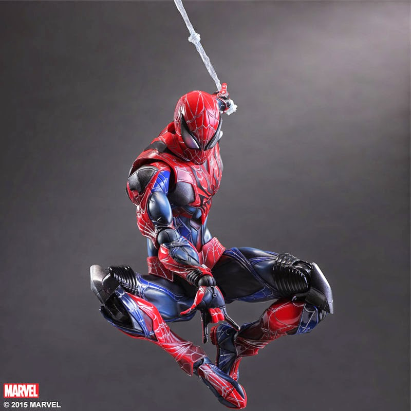 play arts kai spider man century