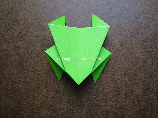 Origami Instruction Easy Origami Frog