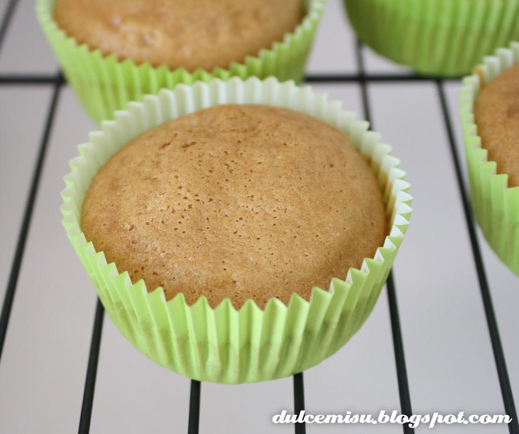 Cupcake, té rooibos, vainilla, lichis, nata, dulcemisu, verde, cápsula, rejilla enfriadora