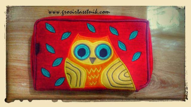dompet hpo namian etnik owl