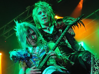 Fechas del Tour de Versailles World Tour 2012 -Holy Grail- Reincarnation