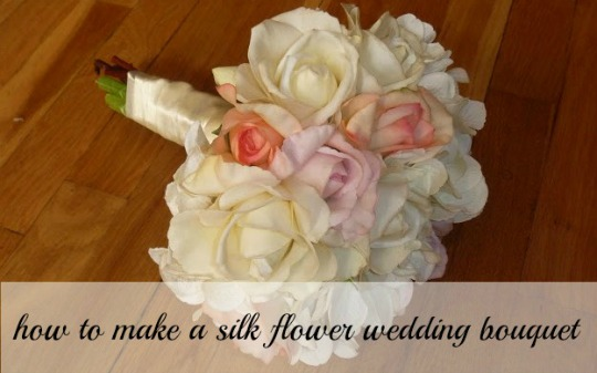 Bridal Flower Making Images : Beauty by arielle how to make a silk flower bouquet