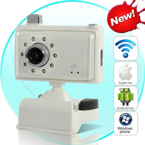 Baby monitor wifi ip camera wireless per iphone ipad for Microcamera wifi per iphone e android