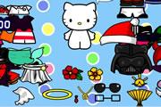 Hello Kitty Giydir Oyunu