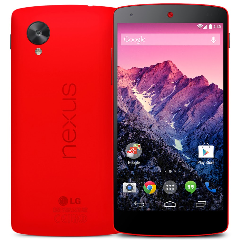 Bright Red Nexus 5
