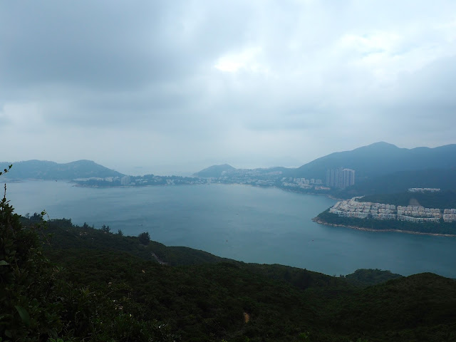 View of Stanley & Tai Tam Bay from Dragon's Back, Hong Kong Island