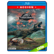 Jurassic World: El reino caído (2018) BRRip 720p Audio Dual Latino-Ingles