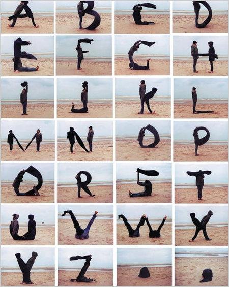 abecedario en letras chinas. el abecedario en graffiti.