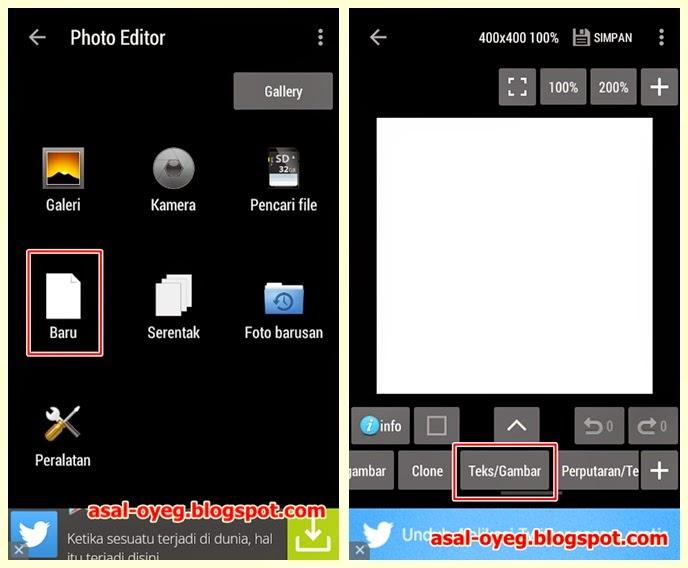 cara paling mudah membuat dp display picture bbm sendiri di android
