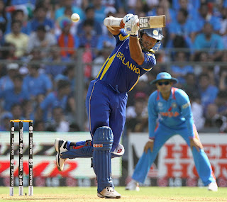 Kumar Sangakkara was selected as a skipper of ICC's World Cup XI