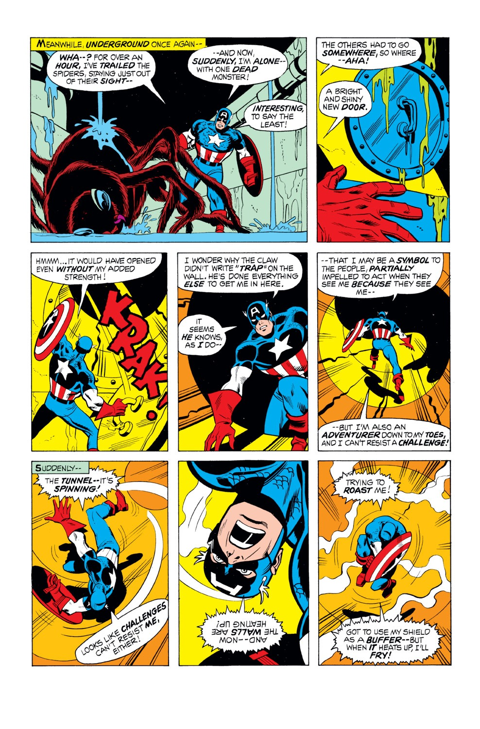 Captain America (1968) Issue #165 #79 - English 17