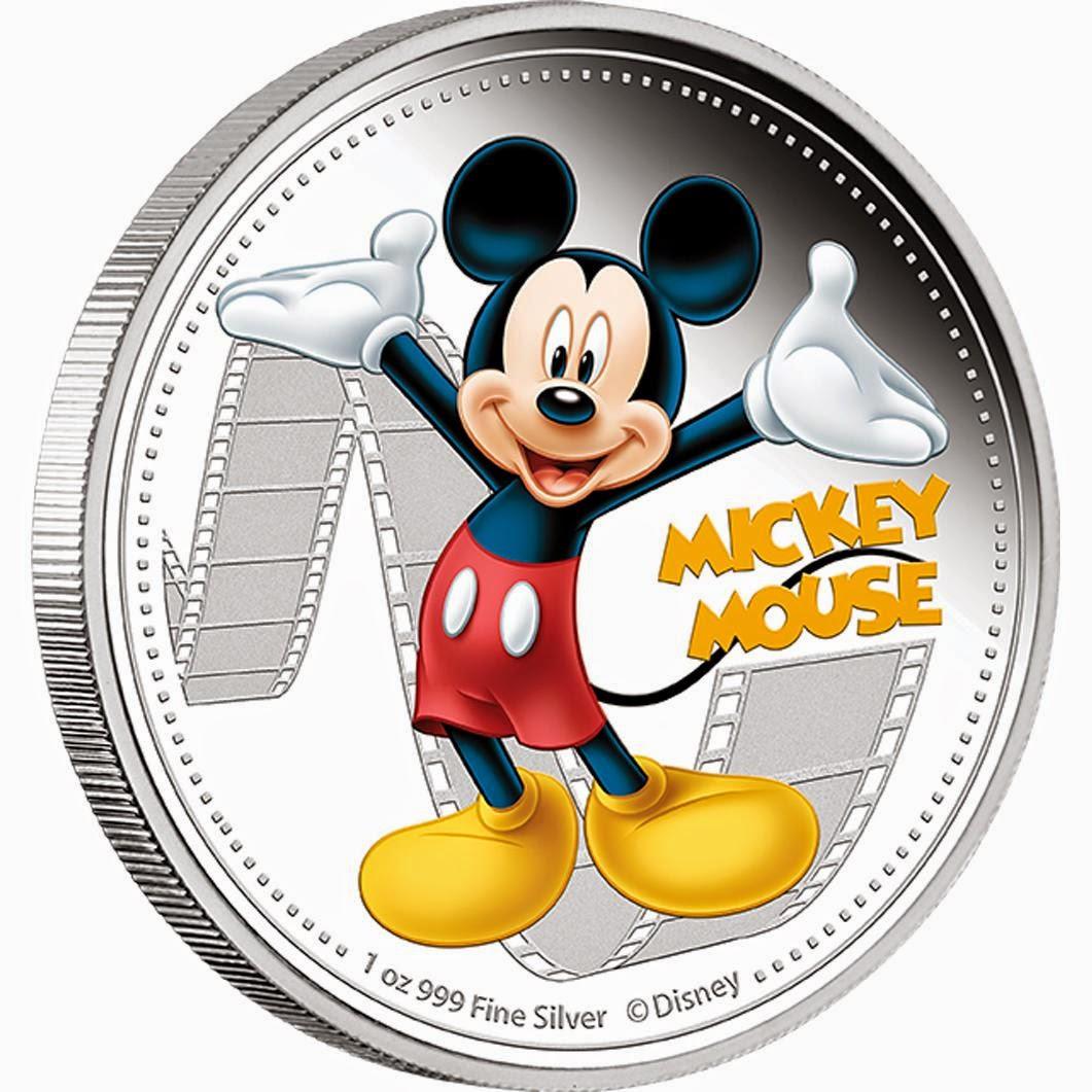Monedas Raras: Niue - Coleccion Mickey Mouse a color