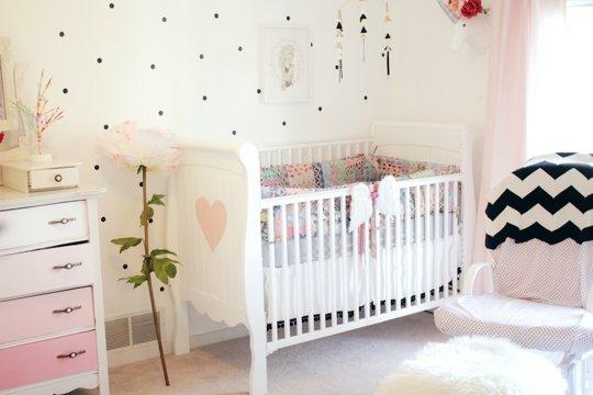 Decor me una delicada habitaci n infantil de estilo vintage for Habitaciones para ninas estilo vintage