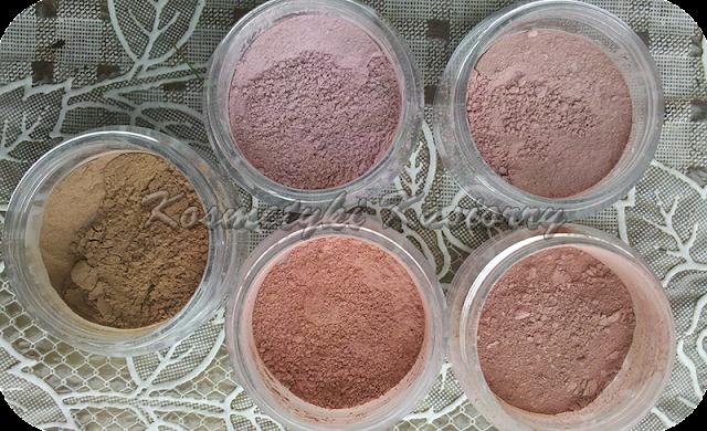 róż mineralny róże minerały pigmenty kosmetyki mineralne jak zrobić kolorowka.com