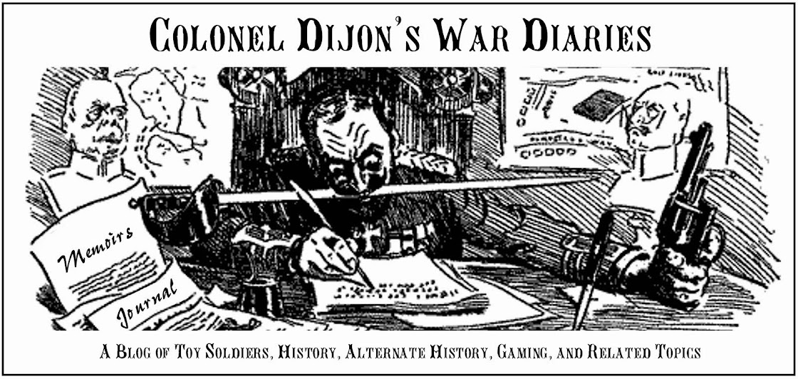 Colonel Dijon's War Diaries