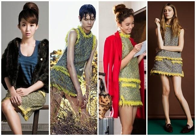Sane or Not by Sheena 宣娜:林嘉綺、陳庭妮、郭書瑤、孫儷、姚晨 明星撞衫穿搭
