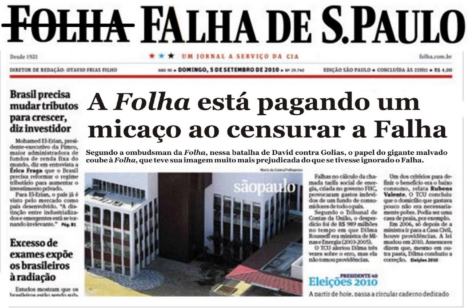 folha sao paulo:
