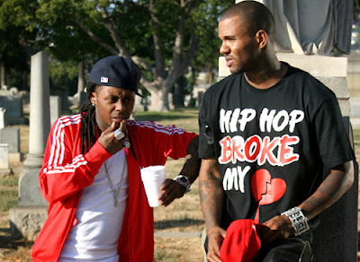 fotos de the game y lil wayne