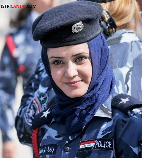 Istri Cantik Polisi Wanita Cantik Irak Seputar Wanita Tercantik