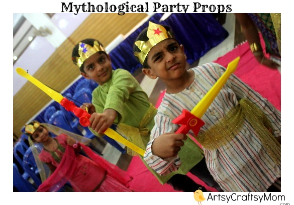 Indian mythological party props