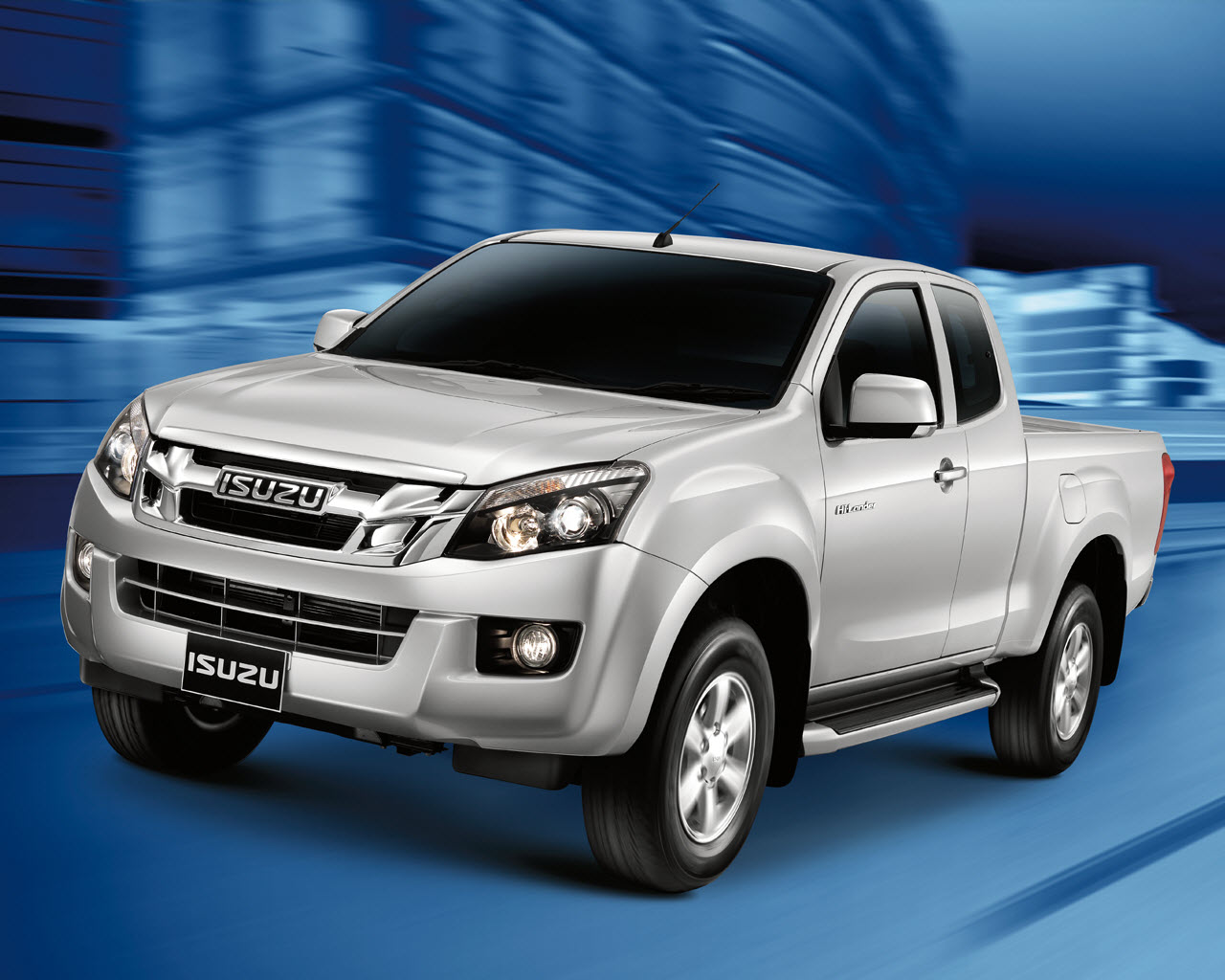 New Isuzu D-Max 2014