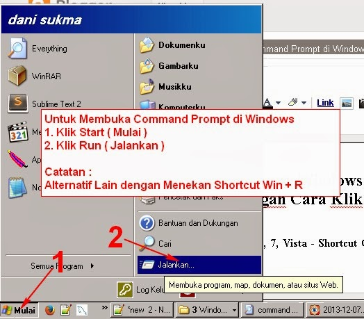 Cara Menjalankan Command Prompt di Windows