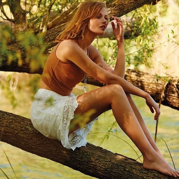 Stradivarius Spring/Summer 2015 Campaign starring Frida Gustavsson
