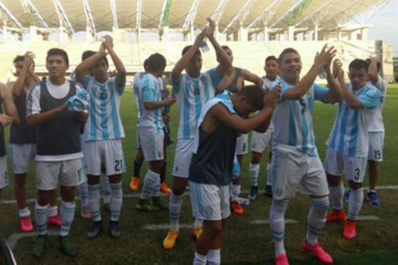 seleccion argentina sub 15 - sudamericano colombia 2015