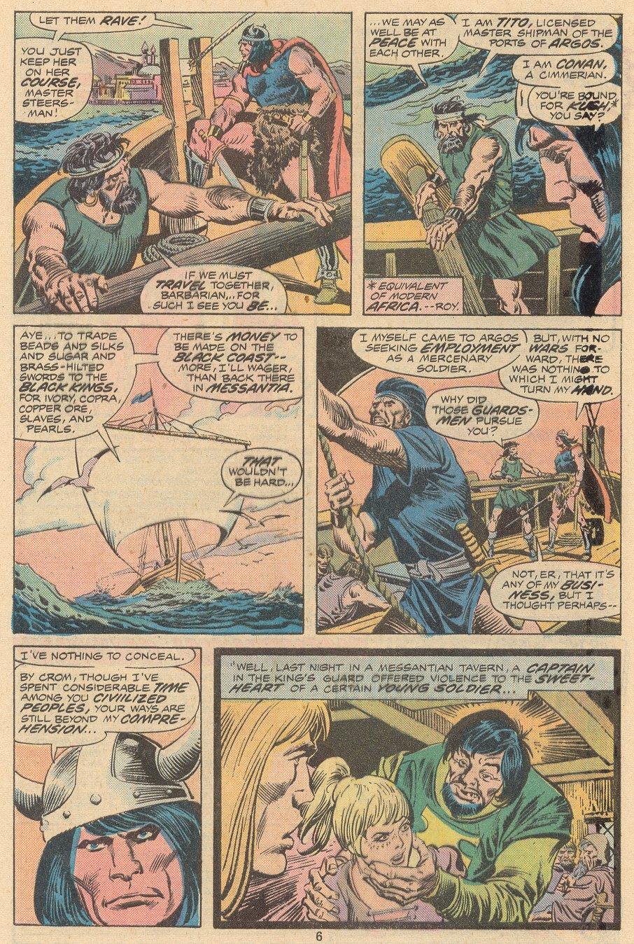 Conan the Barbarian (1970) Issue #58 #70 - English 5