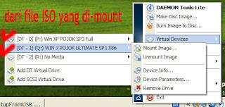 Gambar 11 Cara Membuat Dual Bootable Flashdisk untuk Win XP dan Win 7 atau Win 8