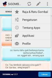Aplikasi SiGombal