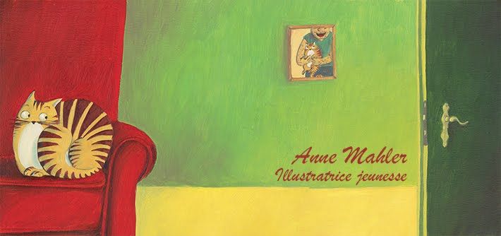 Anne Mahler, illustratrice jeunesse