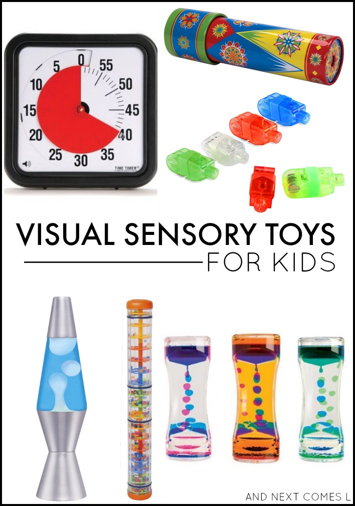 Toys For Autistic Children : Visual sensory toys tools for kids and next comes l