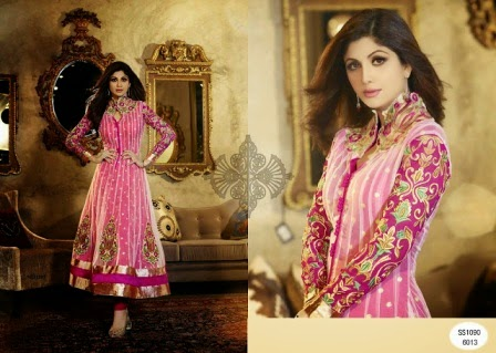 Shilpa Shetty anarkali collection