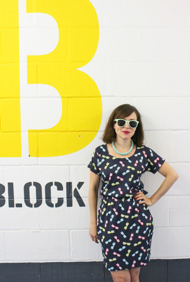 Bettine dress - sewing pattern by Tilly and the Buttons