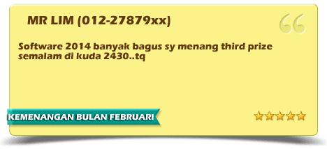 KEMENANGAN TERBARU BULAN FEBRUARI 2014