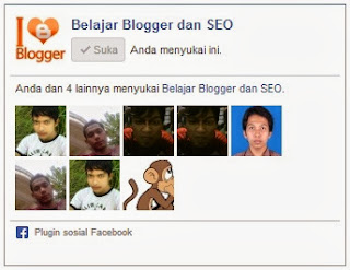 Membuat dan pasang Facebook Like Box di blogger terbaru lengkap