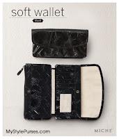 Miche Soft Wallet Black