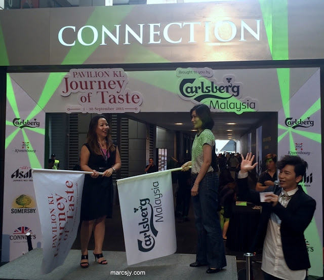 Experience Joining Journey of Taste (#Journeyoftaste) at Pavilion Kuala Lumpur